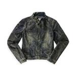 Ecko Unltd. Womens Moto Jean Jacket