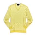 Tasso Elba Mens Knit V Neck Pullover Sweater