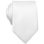 bar III Mens Sable Solid Necktie