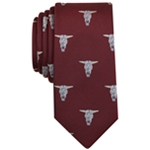 bar III Mens Fossil Neat Necktie