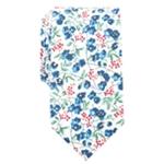bar III Mens Floral Skinny Self-tied Necktie