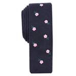 bar III Mens Embroidered Floral Self-tied Necktie