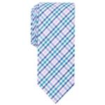 bar III Mens Multi Dobby Gingham Skinny Self-tied Necktie