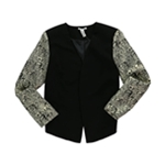 bar III Womens Front Row Blazer Jacket