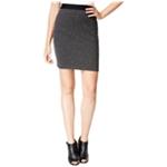 maison Jules Womens Jacquard Pencil Skirt
