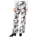 bar III Womens Wide-Leg Casual Trousers