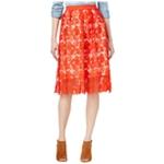 maison Jules Womens Crochet A-line Skirt