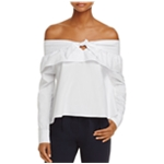 The Fifth Label Womens Off The Shoulder Pullover Blouse