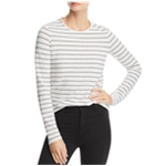 The Fifth Label Womens Textured Stripe Basic T-Shirt