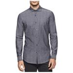 Calvin Klein Mens Cotton Button Up Shirt