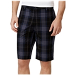 Calvin Klein Mens Windowpane Casual Walking Shorts