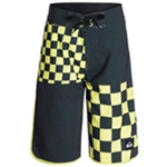 Quiksilver Boys Quad Checkered Swim Bottom Board Shorts
