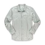 Calvin Klein Mens Solid Button Up Dress Shirt