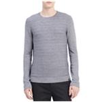 Calvin Klein Mens Textured Stripe Pullover Sweater