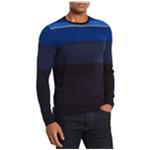 Calvin Klein Mens Texture Stripe Pullover Sweater
