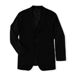 Perry Ellis Mens Pinstripe Two Button Blazer Jacket