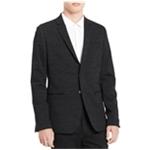 Calvin Klein Mens Hidden Two Button Blazer Jacket
