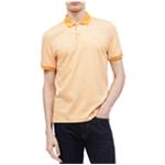 Calvin Klein Mens Stripe Rugby Polo Shirt