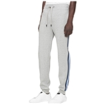Calvin Klein Mens Side Stripe Logo Athletic Sweatpants