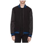 Calvin Klein Mens Colorblocked Bomber Jacket