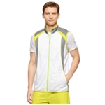 Calvin Klein Mens Colorblock Vest Track Jacket