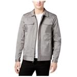 Calvin Klein Mens Pinstriped Trucker Jacket