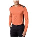 Greg Norman Mens Performance LS Embellished T-Shirt