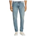Calvin Klein Mens Distressed Slim Fit Jeans
