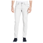 Calvin Klein Mens Distressed Slim Fit Jeans