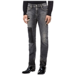 Calvin Klein Mens Monly Patch Slim Fit Jeans