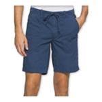 Calvin Klein Mens Faded Poplin Casual Walking Shorts