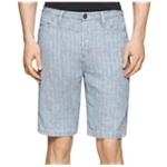 Calvin Klein Mens Stripe Casual Walking Shorts