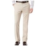 Perry Ellis Mens Flat-Front Texture Dress Pants Slacks