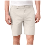 DKNY Mens Sateen Stretch Casual Chino Shorts