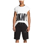DKNY Mens Athleisure Athletic Sweat Shorts