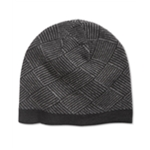 Ryan Seacrest Distinction Mens Diamond Knit Beanie Hat