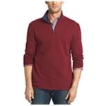 IZOD Mens Textured 1/4 Zip Sweatshirt
