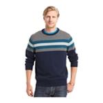 IZOD Mens Varsity Striped Pullover Sweater