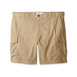 IZOD Mens Poplin Casual Cargo Shorts
