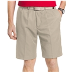 IZOD Mens The Driver Doublepleat Casual Walking Shorts