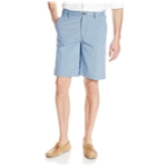 IZOD Mens Mini Plaid Casual Walking Shorts