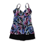 MagicSuit Womens Katie Wire-Free Jersey Skirted 2 Piece Tankini