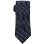 Bloomingdale's Mens Tonal Grid Necktie