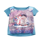 Jessica Simpson Girls Celestial Glamping Graphic T-Shirt