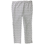 Charter Club Womens Anchor Pull-On Casual Trousers