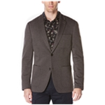 Perry Ellis Mens Knit Two Button Blazer Jacket