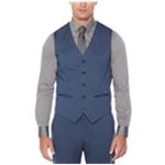 Perry Ellis Mens Suiting Five Button Vest