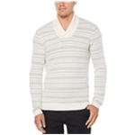 Perry Ellis Mens Striped Pullover Sweater