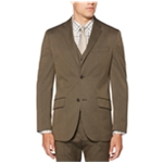 Perry Ellis Mens Stretch Solid Jackets & Blazers Suit