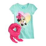 Disney Girls With All My heart Graphic T-Shirt
